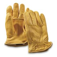 Guide Gear Men's Insulated Leather Gloves, Natural