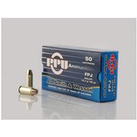 PPU, .40 Smith & Wesson, FPJ, 165 Grain, 50 Rounds