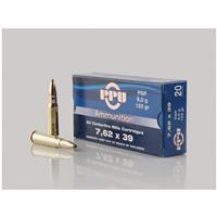PPU, 7.62x39mm, PSP, 123 Grain, 20 Rounds