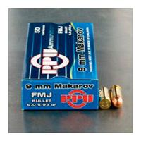 PPU, 9x18mm Makarov, JHP, 95 Grain, 50 Rounds