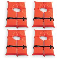 Guide Gear Type II Adult Flotation Vest, 4 Pack