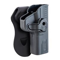 Caldwell Tac Ops Molded Retention Holster, Glock 17 RH, Right Hand