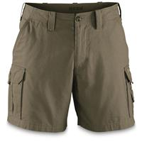 "Guide Gear Men's Outdoor Cargo Shorts, Olive, 6"" inseam"