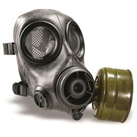 U.S. Police Surplus FM12 Avon Gas Mask with Filter, New