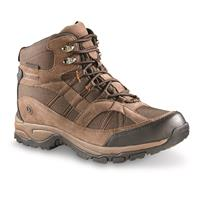 Northside Men's Rampart Waterproof Mid Hiking Boots, Medium Brown
