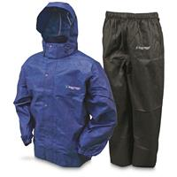 Frogg Toggs Men's Waterproof All Sport Rain Suit, Royal Blue/Black
