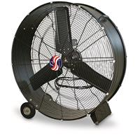 "Q Standard 36"" Direct Drive Drum Fan"
