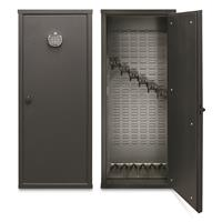 SecureIt Tactical Model 52 Gun Cabinet holds 6 Rifles with patented CradleGrid technology