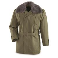 Czech Military Surplus Parka, OD Green, New