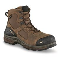 "Irish Setter Men's Kasota Waterproof 6"" Side Zip Safety Toe Work Boots"