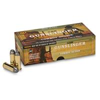 GBW Cartridge, Gunslinger, .45 Colt, LRNFP, 185 Grain, 50 Rounds