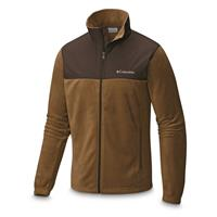 Columbia Men's Steens Mountain Tech II Full-Zip Fleece Jacket, Trail/Buffalo