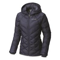 Columbia Women's Heavenly Insulated Hooded Jacket, Nocturnal