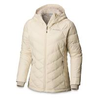 Columbia Women's Heavenly Insulated Hooded Jacket, Light Bisque