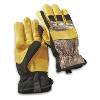 Guide Gear Men's Insulated Hunt/Work Gloves, Tan/Realtree