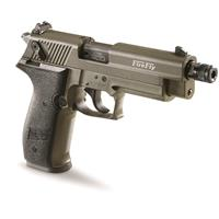 "ATI GSG FireFly HGA, Semi-Automatic, .22LR, Rimfire, 4"" Threaded Barrel, Olive Drab, 10+1 Rounds"