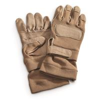 U.S. Military Surplus Ansell Fire Resistant Combat Gloves, 3 Pairs, New