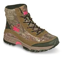 Realtree Girl Women's Hawk Hiking Boots, Brown/Realtree Xtra