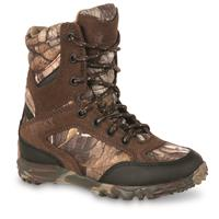 Kids' Rocky Silent Hunter Waterproof Insulated Hunting Boots, 400 Gram, Realtree Xtra