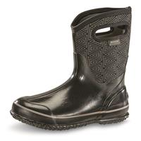 Bogs Women's Classic Triangles Mid Rubber Boot
