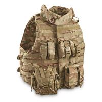 Mil-Tec Military-style Padded OCP Plate Carrier Vest