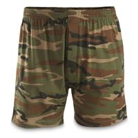 Mil-Tec Military-Style Woodland Camo Boxer Shorts