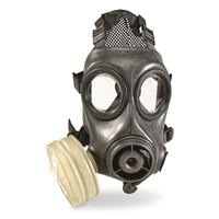 U.S. Military Surplus Avon FM12 Gas Mask with NATO Filter, New