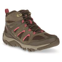 Merrell Women's Outmost Mid Ventilator Waterproof Hiking Boots, Canteen