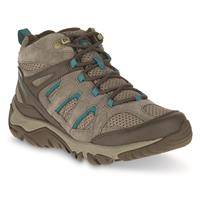 Merrell Women's Outmost Mid Ventilator Waterproof Hiking Boots, Boulder