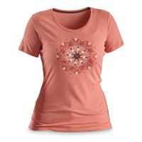 Columbia Women #039;s Butterfly Wing Medallion Tee Shirt