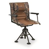 Bolderton 360 Comfort Swivel Hunting Chair with Armrests, Mossy Oak Break-Up COUNTRY