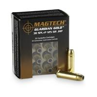 Magtech Guardian Gold, .38 Special + P, JHP, 125 Grain, 20 Rounds