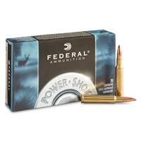 Federal Power-Shok, 7mm Mauser, JSP, 140 Grain, 20 Rounds