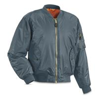 Fox Tactical MA-1 Insulated Flight Jacket, Navy