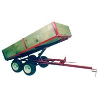 Country Manufacturing Tandem Trailer, 7 foot Bed