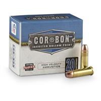 COR-BON® Pistol Self-Defense .38 Spec. +P 125 Grain JHP 20 rounds