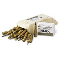 60 rds. Swiss Military 7.5x55 Ammo