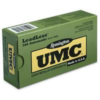 UMC LeadLess Handgun Cartridges