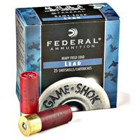 "Federal, Game-Shok Heavy Field, 12 Gauge, 2 3/4"", 1 1/4 oz. Shotshell, 25 Rounds"