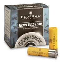 "Federal, Game-Shok Heavy Field, 20 Gauge, 2 3/4"" 1 oz. Shotshell, 25 Rounds"
