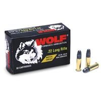 500 rounds Wolf .22 LR Match Target Ammo