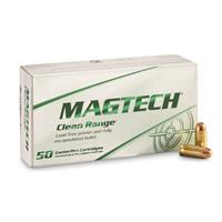Magtech Clean Range, .380 ACP, FEB, 95 Grain, 50 Rounds