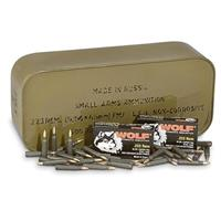 500 rounds Wolf .223 FMJ Ammo