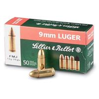Sellier & Bellot® Pistol .25 Auto 50 grain FMJ 50 rounds