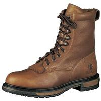 "Men's Rocky® Ride Lacer 8"" Work Boots, Tan"