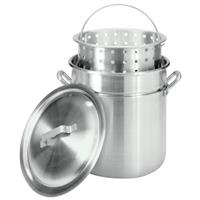 Bayou Classic 42-qt. Aluminum Stockpot Fryer / Steamer with Boil Basket