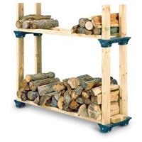 2-Pk. Firewood Rack Kit