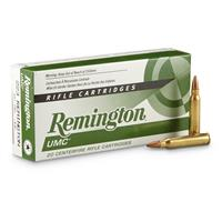 Remington® UMC® Rifle .223 Rem. 50 Grain JHP 20 rounds