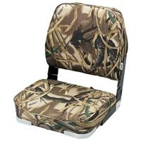 Wise Camouflage Hunting / Fishing Fold-down Boat Seat, Advantage Max-4