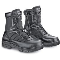 "Men's Bates® 8"" Enforcer Side-zip Safety Toe Boots, Black"